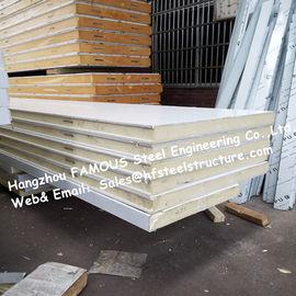 Панель холодной комнаты трупа модульная, панель холодильных установок 1150мм с изготовленным на заказ цветом